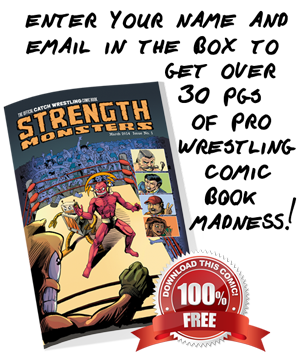 Strength Monsters Comic Book Madness